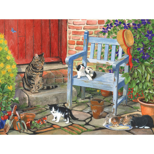Morning Milk 300 large Piece Jigsaw Puzzle
