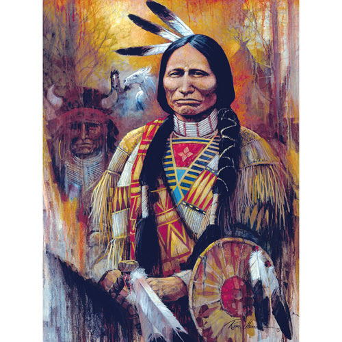 Chief American Horse 300 Large Piece Jigsaw Puzzle