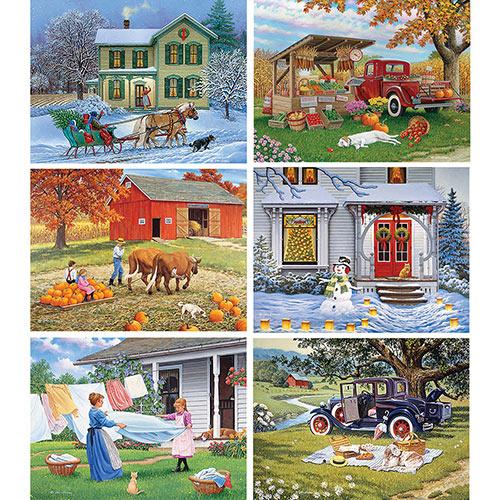 Halloween Hayride 1000 Piece Jigsaw Puzzle