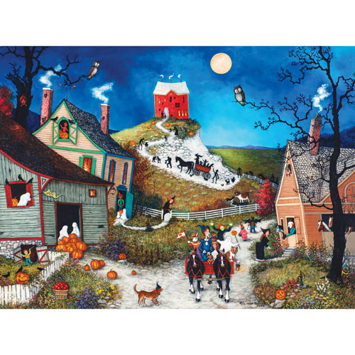 Halloween, Boo! 300 Large Piece Jigsaw Puzzle