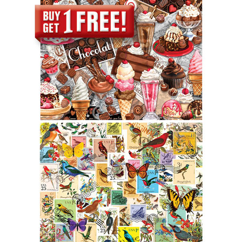 Preparing for Christmas 300 Large Piece Jigsaw Puzzle