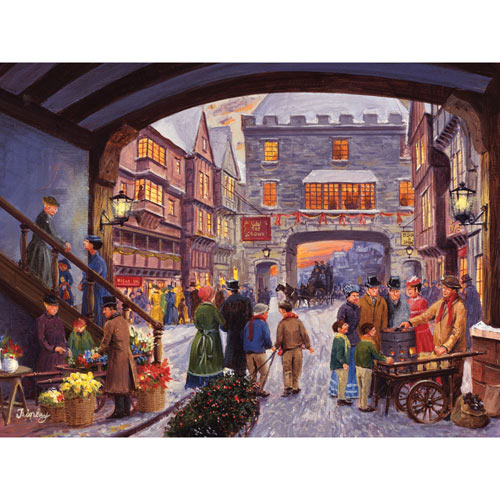 Christmas Shopping 300 Large Piece Jigsaw Puzzle