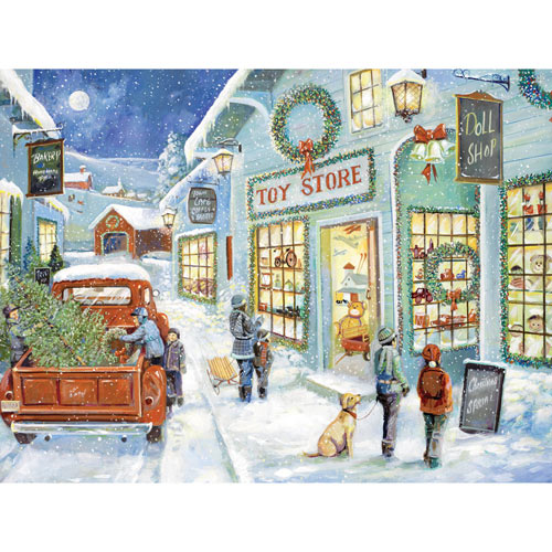 The Town Toy Store 300 Large Piece Jigsaw Puzzle