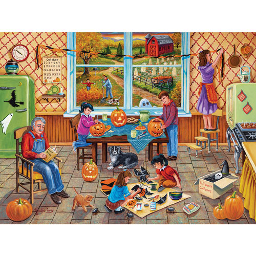 Holiday Farm 300 Large Piece Jigsaw Puzzle