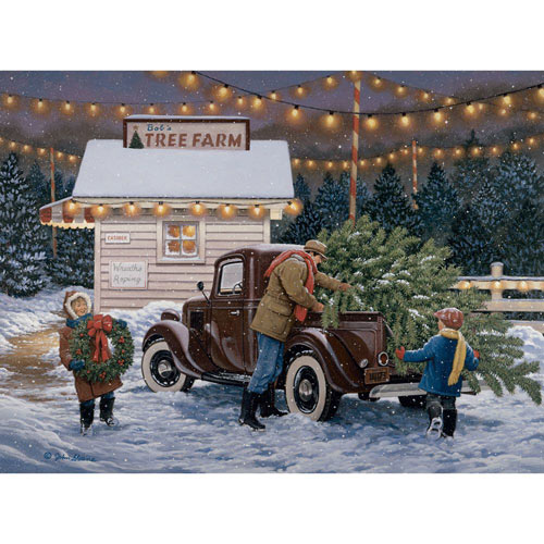 Tree Farm 1000 Piece Jigsaw Puzzle