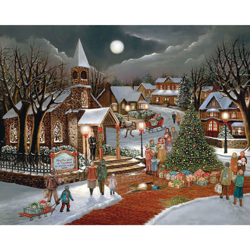 Spirit of Christmas 300 Large Piece Jigsaw Puzzle