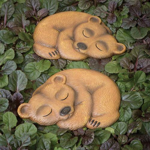 Bear Cub Garden Stones