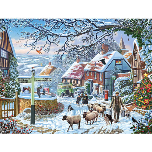 Harvest Helper 300 Large Piece Jigsaw Puzzle