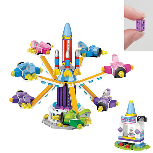 Blast Off Jet with Ticket Booth 361 Piece Puzzle