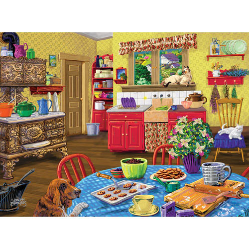 Dog Gone Good Cookies 300 Large Piece Jigsaw Puzzle