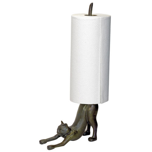 Cat Paper Towel Holder