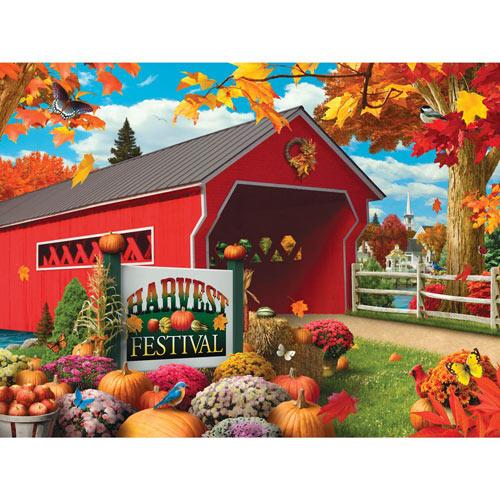 Harvest Festival 300 Large Piece Jigsaw Puzzle