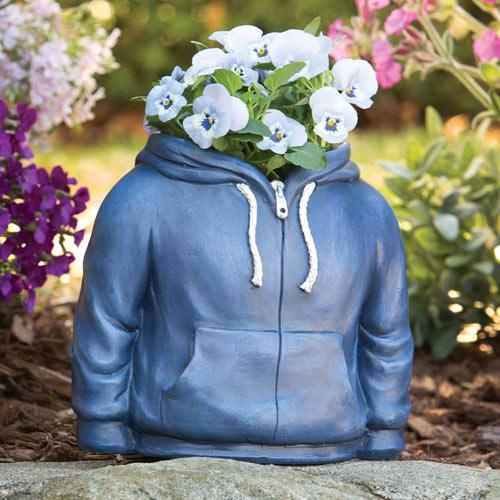 Hoodie Vase Sculpture