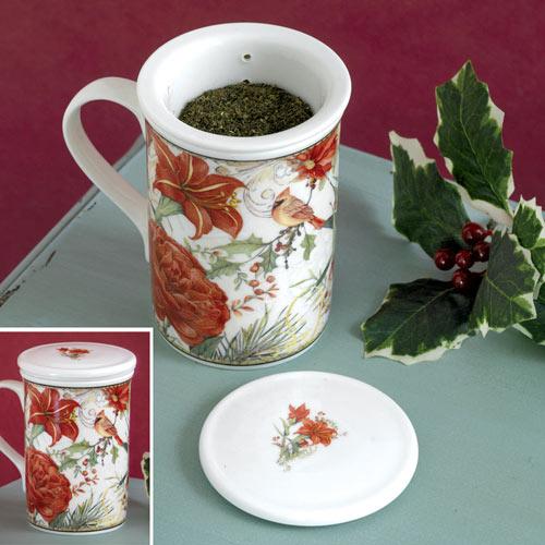 Cardinal Tea Steeper Set