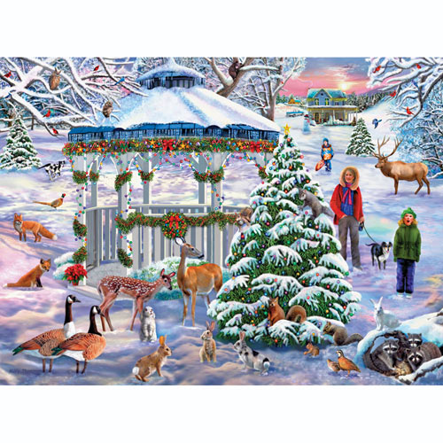 Holiday Gathering 300 Large Piece Jigsaw Puzzle