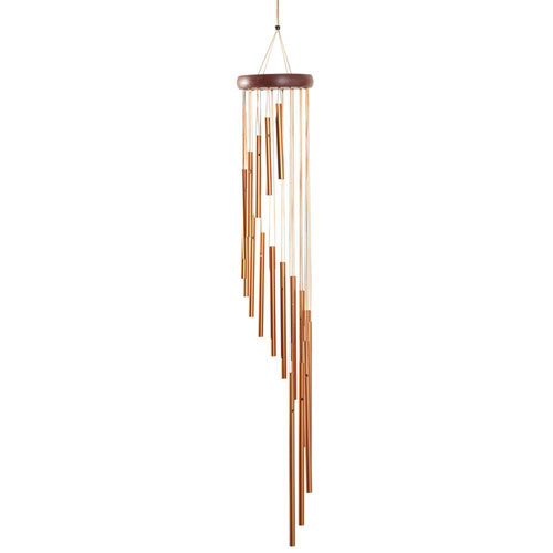 Cascading Bronze Wind Chime