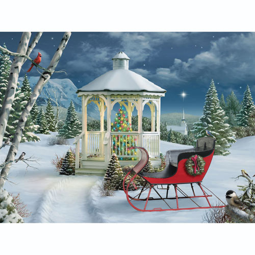 Season of Peace 500 Piece Jigsaw Puzzle
