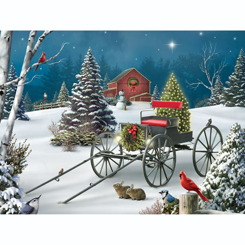 Midnight Singers 500 Piece Jigsaw Puzzle