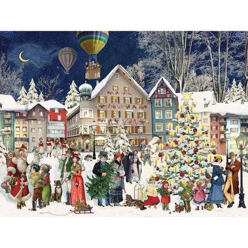 Christmas Town 300 Large Piece Jigsaw Puzzle