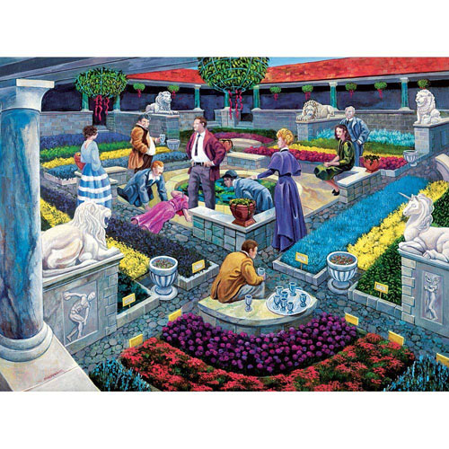 Murder at the Museum 1000 Piece Story Jigsaw Puzzle