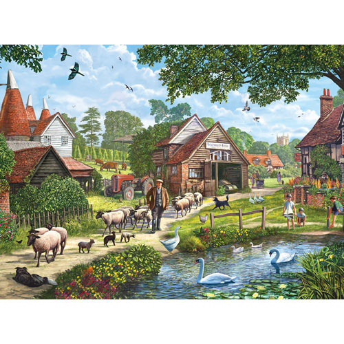 Kentish Farmer 1000 Piece Jigsaw Puzzle