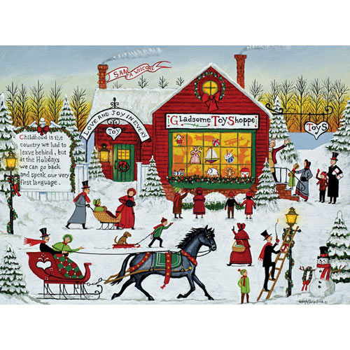 Gladsome Toy Shoppe 1000 Piece Jigsaw Puzzle