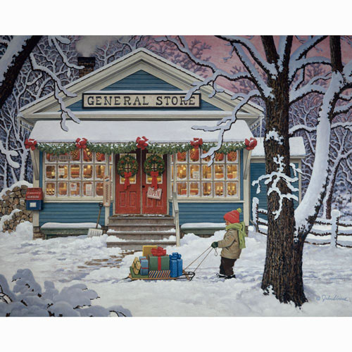 Last Minute Shopper 500 Piece Jigsaw Puzzle