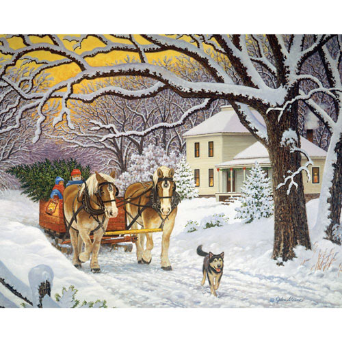 Homeward Bound 300 Large Piece Jigsaw Puzzle