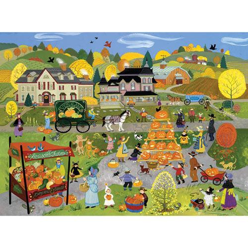 Jack-O-Lantern Festival 300 Large Piece Jigsaw Puzzle