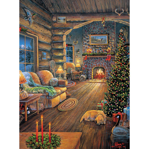 Total Comfort 300 Large Piece Jigsaw Puzzle