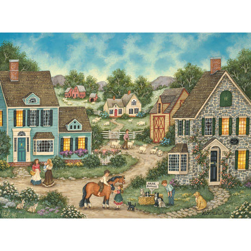 FREE Kittens 500 Piece Jigsaw Puzzle