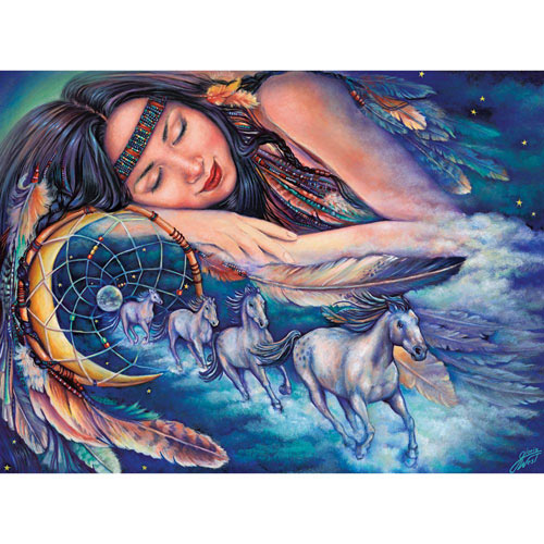 Path of the Dream Catcher 500 Piece Jigsaw Puzzle