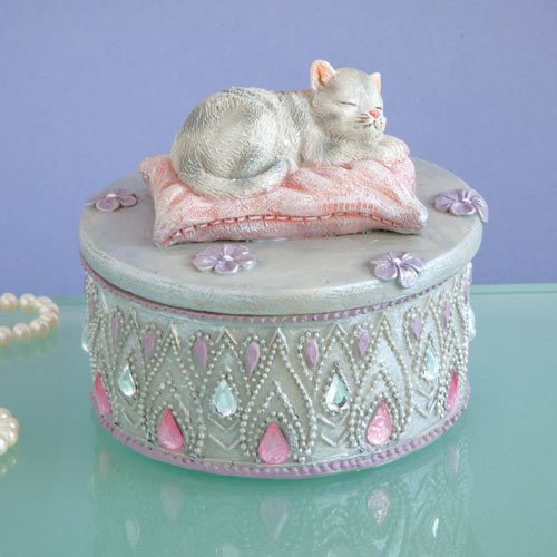 Kitten Keepsake Box