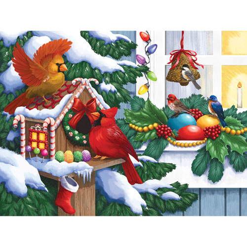 Home for the Holidays 500 Piece Jigsaw Puzzle