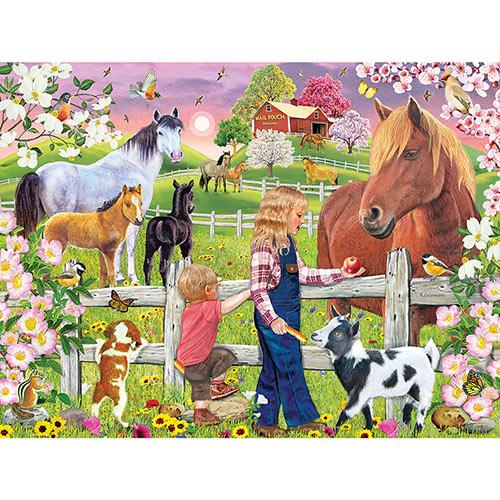 Birdhouse Quilt 500 Piece Jigsaw Puzzle