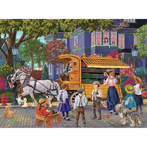 Book Mobile 1000 Piece Jigsaw Puzzle