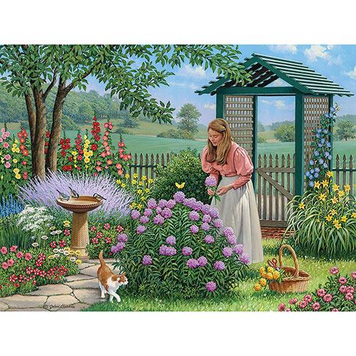 Marge's Ice Fishing 300 Large Piece Jigsaw Puzzle