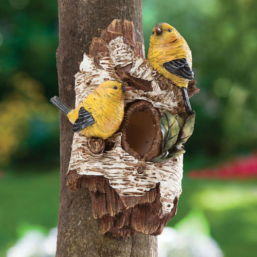 Bird House Tree Hanger
