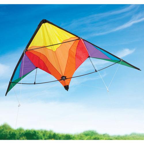 Rainbow Delta Stunt Kite