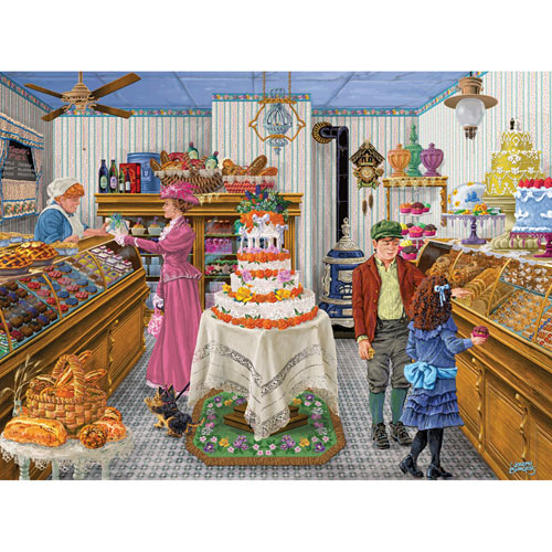 Fantastic Cakes 500 Piece Jigsaw Puzzle