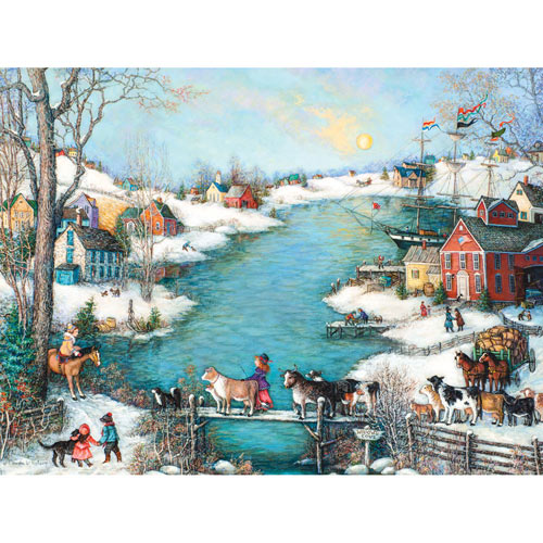 Widow's Cove 1000 Piece Jigsaw Puzzle