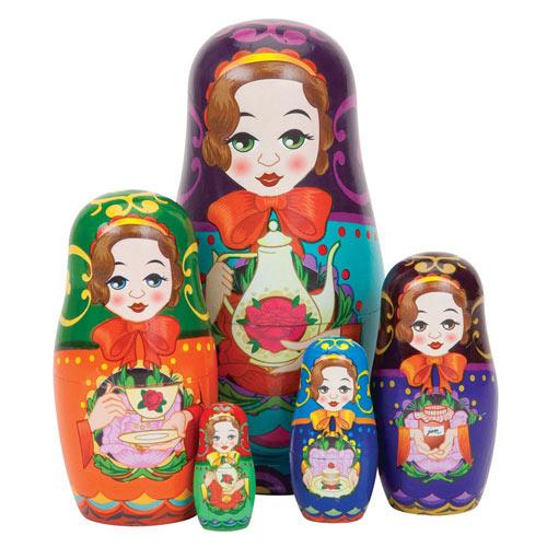 Taralynn's Tea Time™ Nesting Doll Set