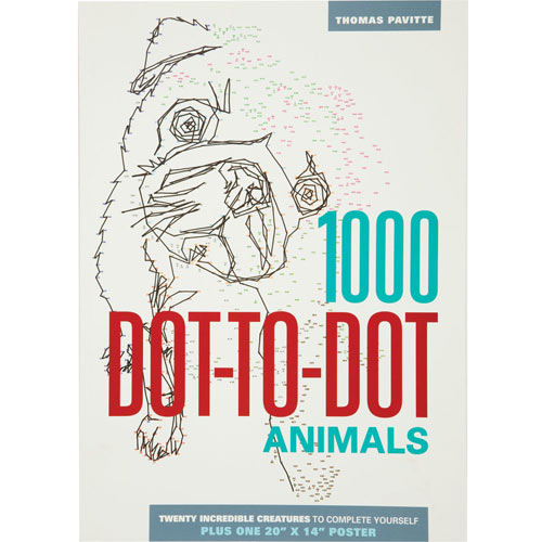Animals 1000 Dot-to-Dot Puzzle Book