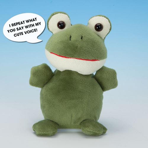 Talking Frog Plush Toy