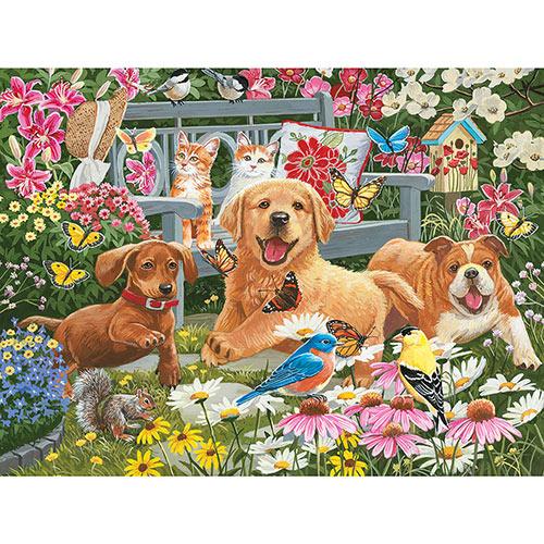 Garden Quilt 500 Piece Jigsaw Puzzle