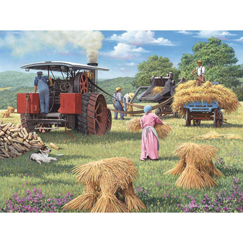 Harvest Days 300 Large Piece Jigsaw Puzzle
