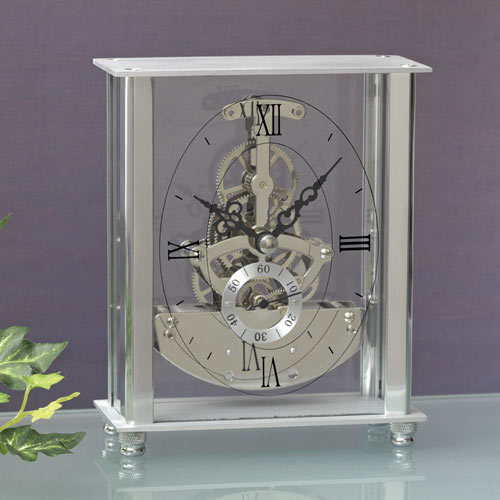 Skeleton Table Clock