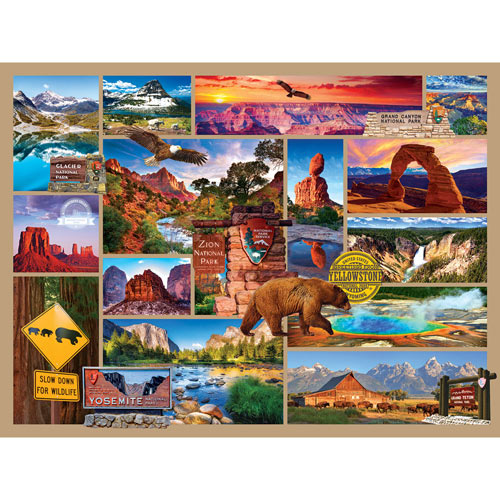 National Parks 1000 Piece Jigsaw Puzzle