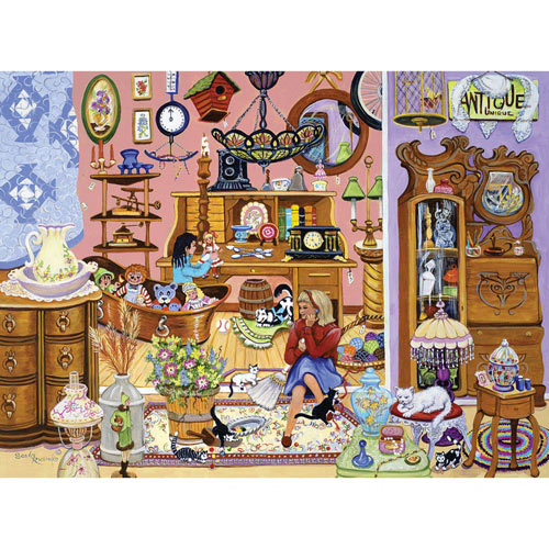 The Antique Shop 300 Large Piece Jigsaw Puzzle