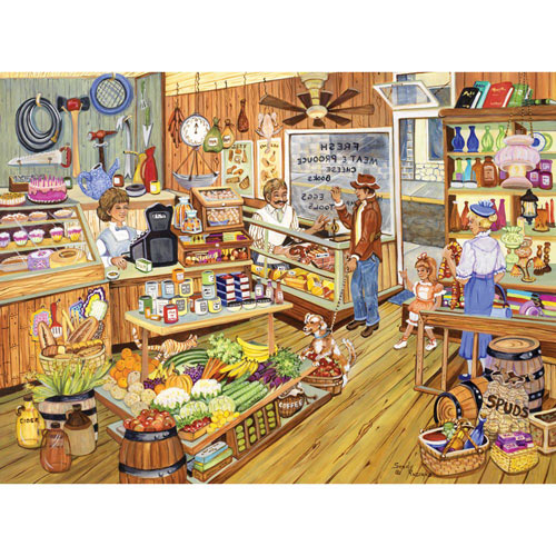 Our General Store 300 Large Piece Jigsaw Puzzle